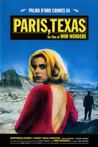 "Poster for the movie ""Paris, Texas"""