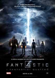 "Poster for the movie ""Fantastic 4 - I fantastici quattro"""