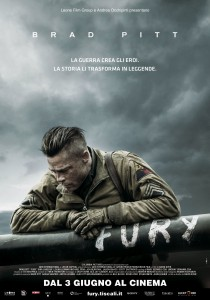 "Poster for the movie ""Fury"""