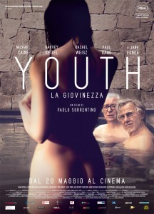 "Poster for the movie ""Youth - La giovinezza"""