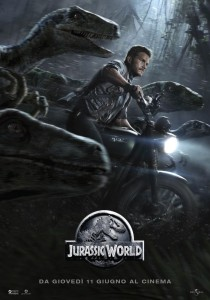 "Poster for the movie ""Jurassic World"""