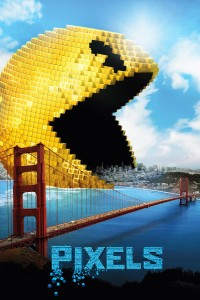 "Poster for the movie ""Pixels"""