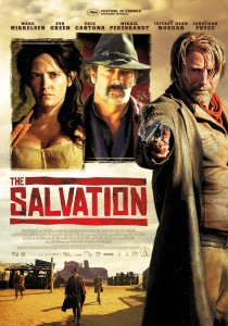 "Poster for the movie ""The Salvation"""