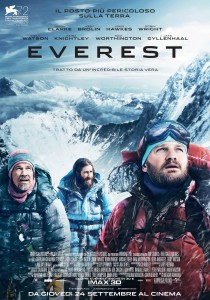 "Poster for the movie ""Everest"""