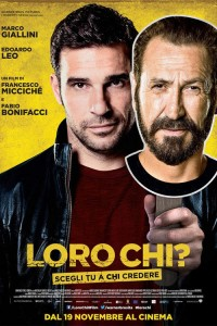 """Poster for the movie """"Loro chi?"""""""