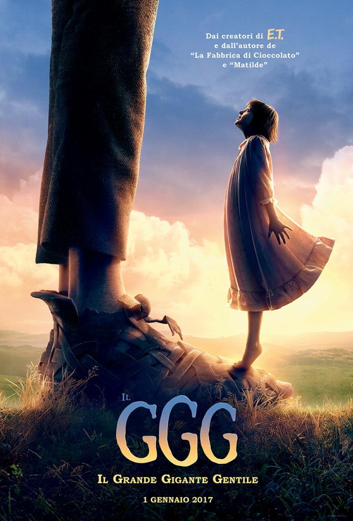 Prima Locandina Italiana Del Film Il GGG Il Grande