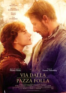 "Poster for the movie ""Via dalla pazza folla"""