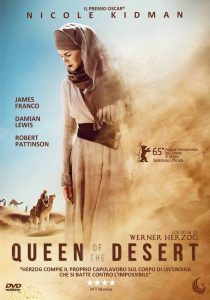 """Poster for the movie """"Queen of the desert"""""""