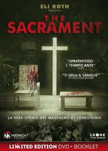 "Poster for the movie ""The Sacrament"""