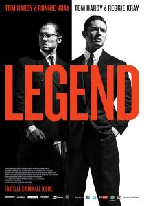 "Poster for the movie ""Legend"""