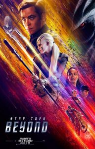 "Poster for the movie ""Star Trek Beyond"""