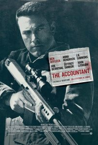 "Poster for the movie ""The Accountant"""