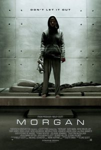 """Poster for the movie """"Morgan"""""""