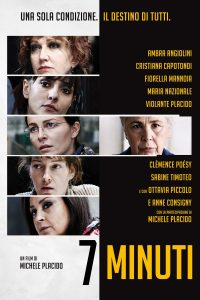 "Poster for the movie ""7 minuti"""