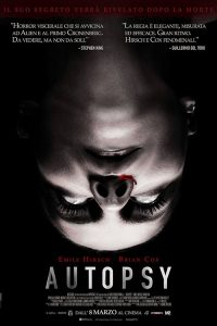 "Poster for the movie ""Autopsy"""
