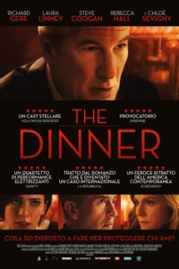 """Poster for the movie """"The Dinner"""""""