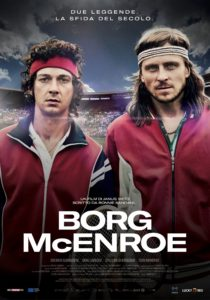 "Poster for the movie ""Borg McEnroe"""