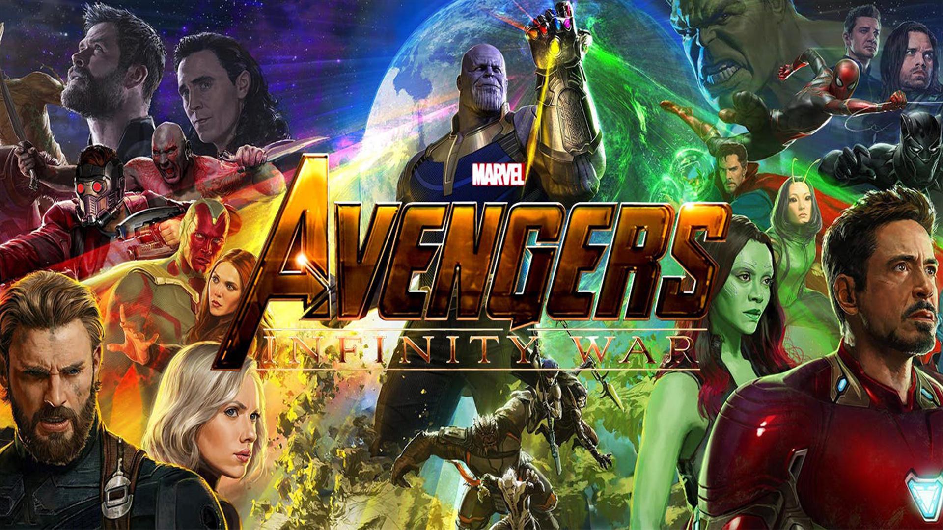 Ecco Un Nuovo Artwork Di Avengers Infinity War
