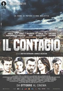 "Poster for the movie ""Il contagio"""