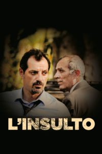 "Poster for the movie ""L'insulto"""