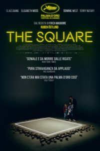 """Poster for the movie """"The Square"""""""
