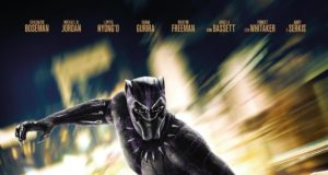 "Poster for the movie ""Black Panther"""