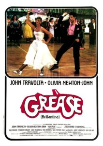 "Poster for the movie ""Grease - Brillantina"""