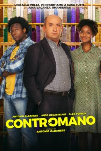 "Poster for the movie ""Contromano"""