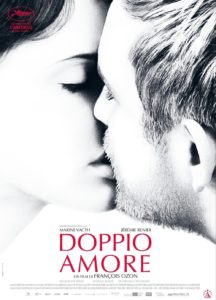"Poster for the movie ""Doppio amore"""