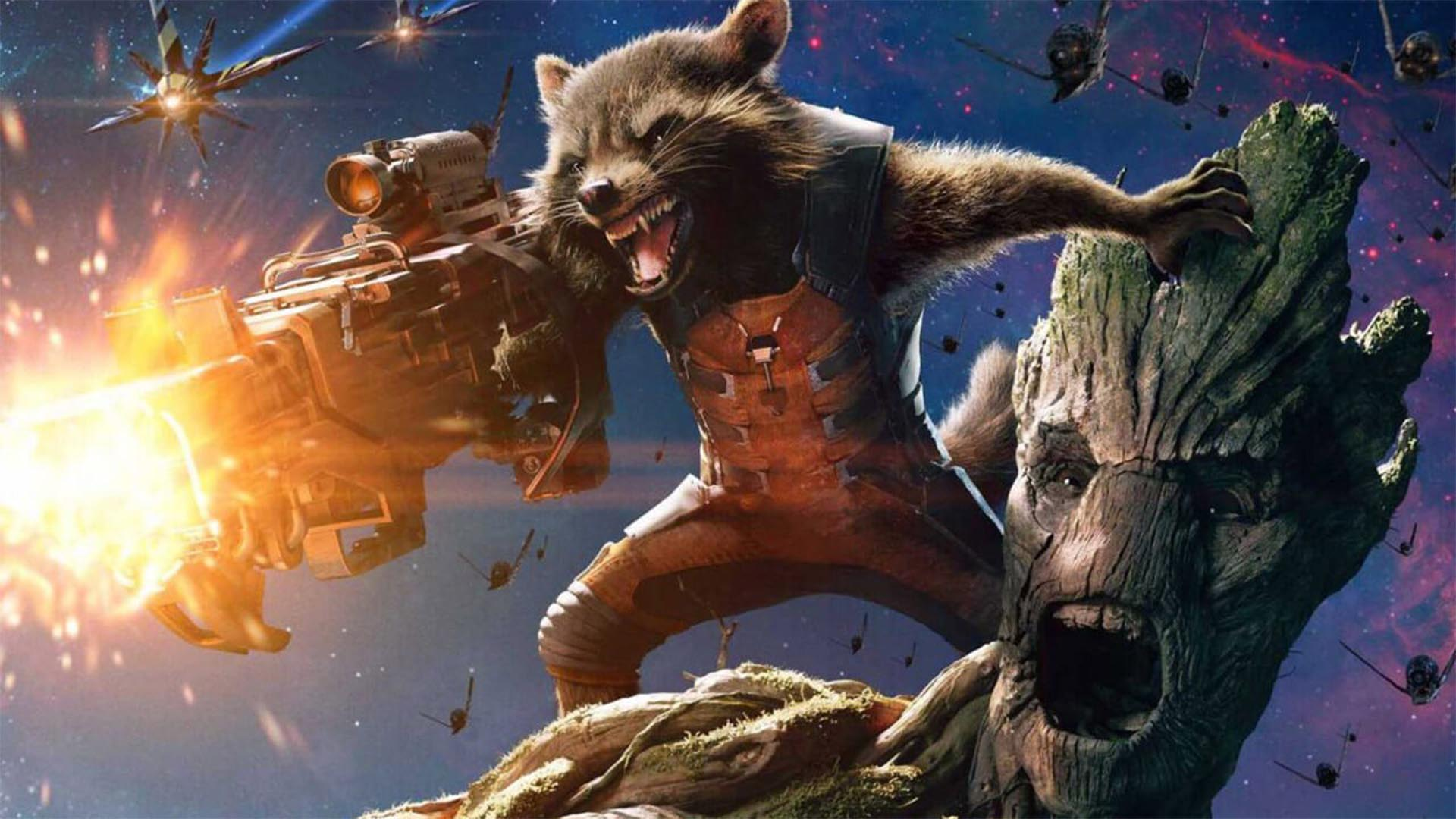 Rocket Raccoon e Groot