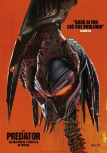 "Poster for the movie ""The Predator"""