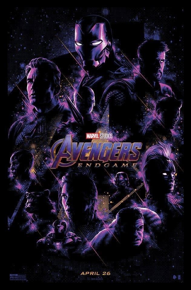 L'artista Tracie Ching ha realizzato un nuovo poster di Avengers: Endgame, attesissimi cinecomic dei fratelli Russo.