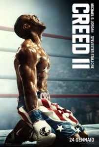 "Poster for the movie ""Creed II"""