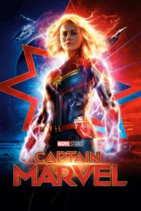 "Poster for the movie ""Captain Marvel"""