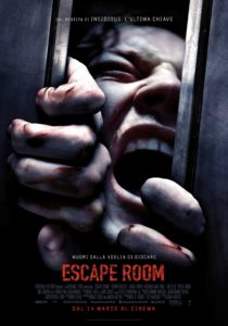 "Poster for the movie ""Escape Room"""