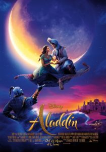 "Poster for the movie ""Aladdin"""