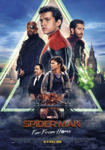 """Poster for the movie """"Spider-Man - Far From Home"""""""