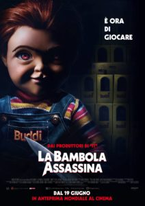 "Poster for the movie ""La bambola assassina"""