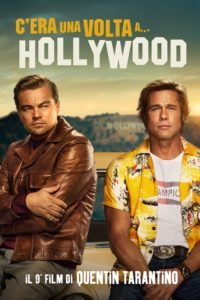 """Poster for the movie """"C'era una volta a… Hollywood"""""""
